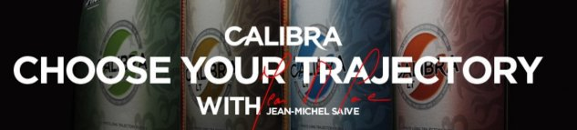 Choose yout trajectory - Calibra